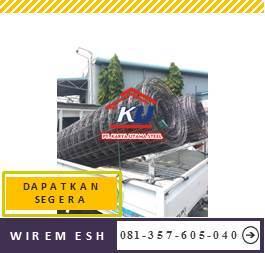 Wiremesh Murah Diameter 8mm Lebar 210 cm Dan Panjang 540 cm
